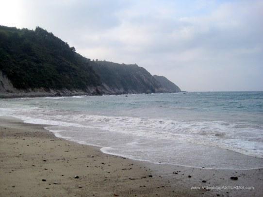 Playa de Oleiros: Vistas desde la arena