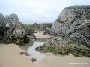 Playa de La Paloma, en Tapia Casariego: Pozas y charcas niños