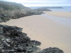 Playa de La Paloma, en Tapia Casariego: Interior Meandros