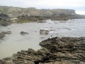 Playa de La Paloma, en Tapia Casariego: Zona occidental
