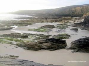 Playa de Arnao, en Castropol: Zona Norte