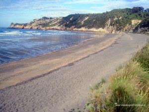 Playa de Barayo en Valdés: Zona oriental
