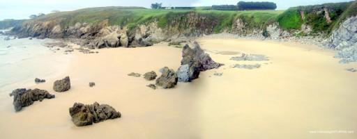 Playa de La Paloma en Tapia Casariego: Zona oriental