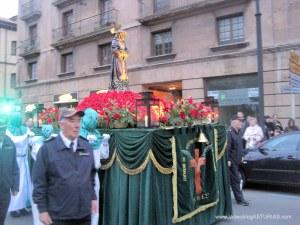 Lunes Santo en Avilés 2012: Jesús Cautivo