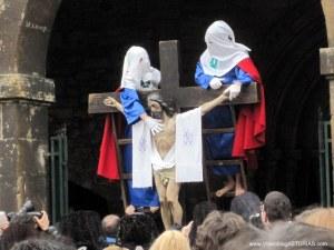 Desenclavo y Descendimiento Jesús. Viernes Santo Avilés 2012