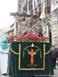 Cristo en Santa Agonía. Viernes Santo Aviles 2012