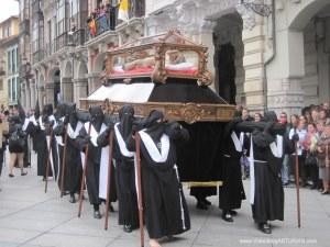 Cristo yacente. Viernes Santo Avilés 2012