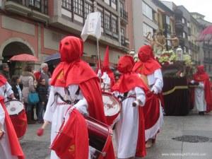 Jesús flagelado y azotado. Viernes Santo Aviles 2012