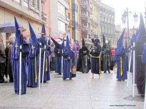 Nazarenos : Viernes Santo Avilés 2012