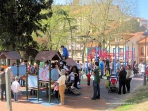 Zona de juegos infantiles Parque Carbayedo
