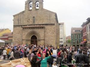 Comida en la calle 2012 en Avilés: Plaza Carbayo en Sabugo