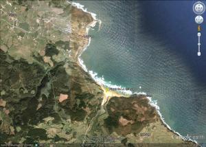 Mapa La Griega en Colunga
