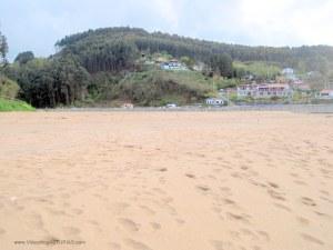 Playa de La Griega:  Zona oriental