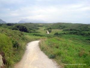 Senda hasta playa San Martin, Portiello, Isla en Llanes