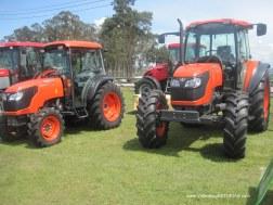Maquinaria en Feria Ascensión Oviedo-Llanera 2012: Tractores