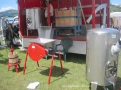 Maquinaria en Feria Ascensión Oviedo-Llanera 2012: Vino y sidra