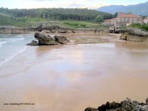 Playas de Celorio, Llanes: Orilla