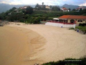 Playas de Celorio: Playa de La Palombina