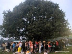 Carmin Pola Siero 2011: Refugiandose bajo la lluvia