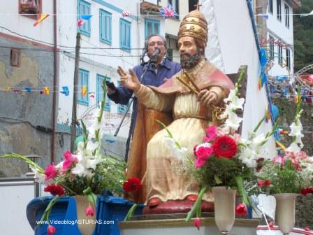 Amuravela en Cudillero: San Pedro y Cesáreo Marques