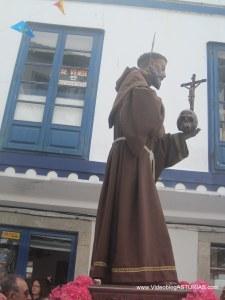 San Pedro en Cudillero: Procesión regreso Iglesia