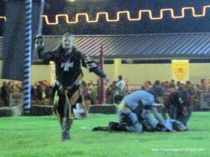 Exconxuraos Llanera Torneo Medieval: Combate en tierra