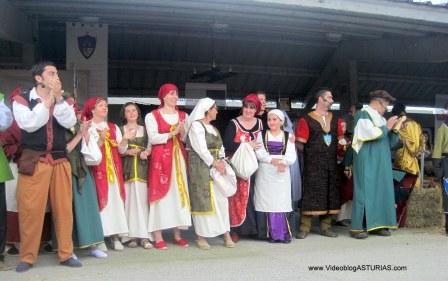 Exconxuraos Llanera: Vecinos representando Exconxuraos