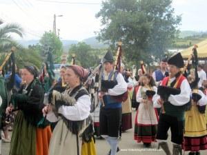 Exconxuraos Llanera: Desfile exconxuraos