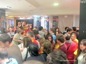 Celebraciones Eurocopa 2012 en Oviedo: Ambiente en bares