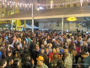 Festival Sidra Nava 2012: Carpas musicales lluvia