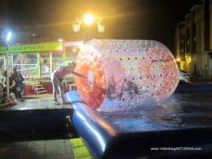 Festival Sidra Nava 2012: Piscinas y Camas Elásticas