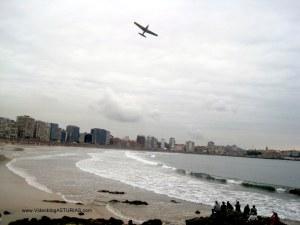 Exhibicion aerea Gijon 2012: Saeta ataque aire-tierra