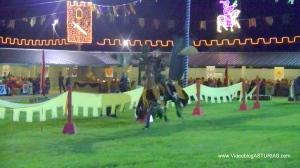 Exconxuraos Llanera Torneo Medieval: Quintera - Estafermo