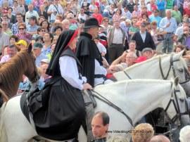 Boda Vaqueira Aristebano: Novios a caballo