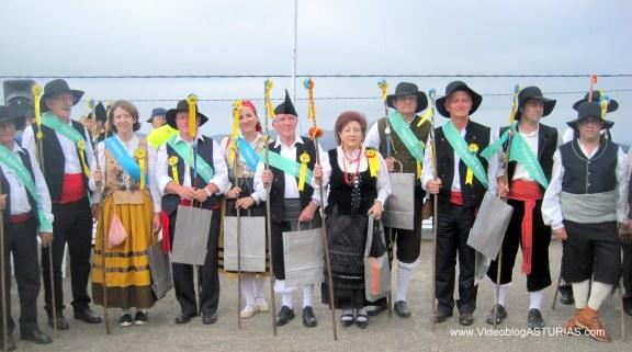 Festival Vaqueiro 2012 Aristebano: Nuevos Vaqueiros Honor