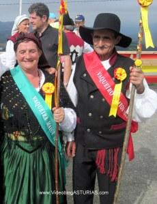 Festival Vaqueiro 2012 Aristebano: Vaqueiros Mayores 2012