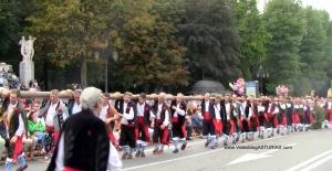 Dia America en Asturias 2012 Oviedo: Bando La Magdalena Llanes