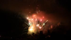 Fiestas del Avellano en Pola de Allande: Fuegos artificiales