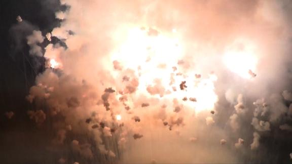 Fiestas del Avellano en Pola de Allande: La Descarga