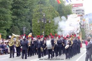 Dia de America en Asturias 201 en Oviedo: Banda Musica Ciudad Oviedo