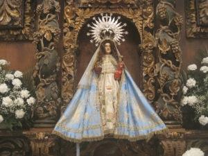 Fiestas del Avellano en Pola de Allande: Nuestra señora del Avellano