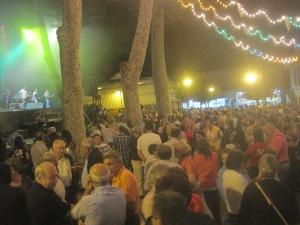 Fiestas del Avellano en Pola de Allande: Verbenas parque El Toral