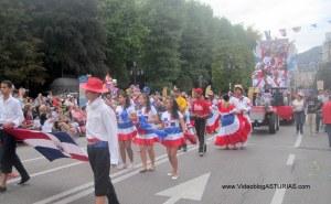 Dia America en Asturias 2012 Oviedo: Merengue dominicano