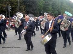 Dia America en Asturias 2012 Oviedo: Banda Musica San Martin Rey Aurelio