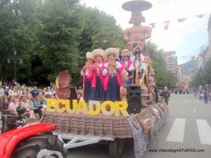 Dia America en Asturias 2012 Oviedo: Ecuador Ancestral