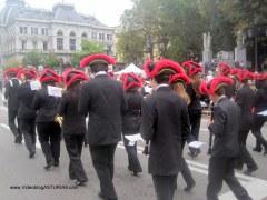 Dia America en Asturias 2012 Oviedo: Banda Union Musical Principado