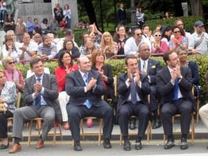 Dia de America en Asturias 2012 en Oviedo: Sin tribunas autoridades