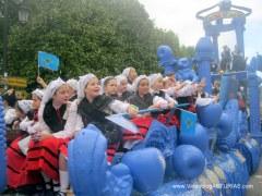 Dia America en Asturias 2012 Oviedo: Reina Asturias Tierra Azul