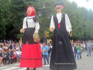 Dia America en Asturias 2012 Oviedo: Pinon y Telva