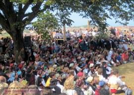Fiestas de Virgen de Guia, en Llanes: Publico asistente